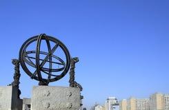 Peking-altes Beobachtungsgremium stockfotos