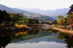 Peking-Arboretum Stockfotos