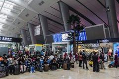 Peking-Bahnstation Stockbild