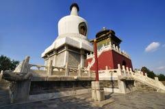 Peking Beihai parkerar, Royaltyfria Foton