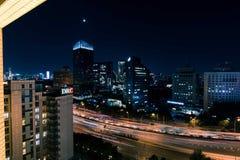 Peking bij nacht Stock Afbeeldingen