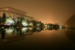 Peking bij nacht, China Royalty-vrije Stock Afbeelding