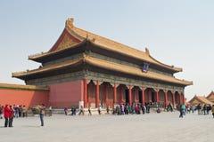 Peking-britischer Palast stockfotografie