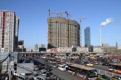 Peking CBD Arkivfoto