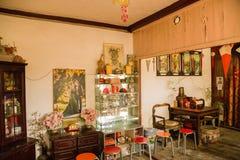 Peking, China Chinesische Innenwohnungen - 3 Lizenzfreies Stockbild