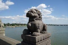 Peking, China, Marco Polo Bridge Stockbild