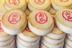 PEKING, CHINA 21 MEI 2016, Chinese mooncake voor de maancake F Stock Afbeelding