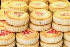 PEKING, CHINA 21 MEI 2016, Chinese mooncake voor de maancake F Stock Fotografie