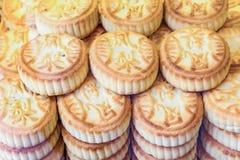 PEKING, CHINA 21 MEI 2016, Chinese mooncake voor de maancake F Royalty-vrije Stock Fotografie