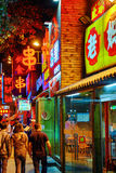 PEKING, CHINA - MEI 18, 2015: De oude ingezetene bouw, historisch, Royalty-vrije Stock Foto's
