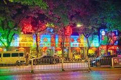 PEKING, CHINA - MEI 18, 2015: De oude ingezetene bouw, historisch, Stock Afbeelding