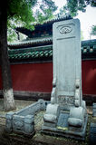 Peking, de Keizeruniversiteitsstraat Stock Afbeelding