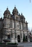 Peking die Katholieke kerk wangfujing Royalty-vrije Stock Fotografie