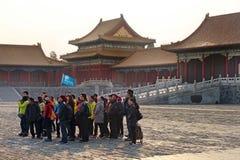 Peking, die verbotene Stadt Stockfoto