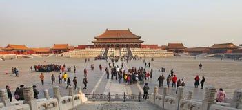 Peking, die verbotene Stadt Stockfotografie