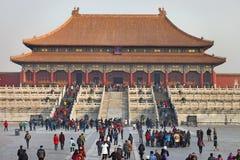 Peking, die verbotene Stadt Lizenzfreies Stockbild