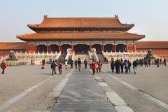 Peking, die verbotene Stadt Lizenzfreie Stockfotografie