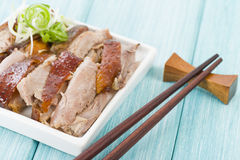 Peking Duck. Chinese roast crispy duck Stock Photos
