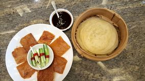 Peking Duck in Chinese style very yummy Stock Photos