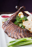 Peking duck dish Royalty Free Stock Photos