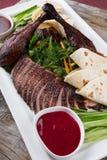 Peking duck dish Royalty Free Stock Images