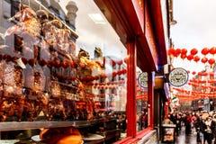 Peking Duck In London Soho Royalty Free Stock Photo