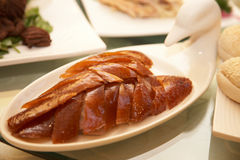 Peking duck meat Royalty Free Stock Photos