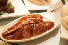 Peking duck meat Royalty Free Stock Photos
