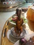 Peking duck, the national dish of Beijing stock photos