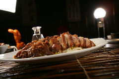 Free Peking Duck On Plate Stock Photography - 7908552