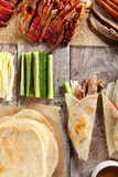 Peking Duck on Parchment Royalty Free Stock Photography