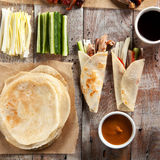 Peking Duck on Parchment Royalty Free Stock Photos