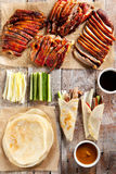 Peking Duck on Parchment Royalty Free Stock Images