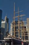 Peking żeglowania statek, Miasto Nowy Jork Obraz Royalty Free