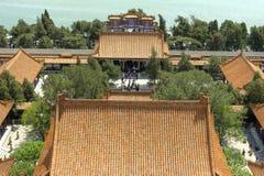 peking för beijing porslinslott sommar Arkivfoto