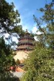 peking för beijing porslinslott sommar Royaltyfri Fotografi