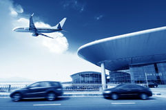 Peking-Flughafen Lizenzfreies Stockfoto