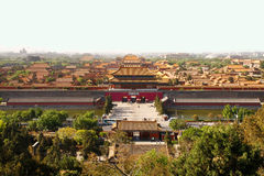 Peking Forbidden City Royaltyfri Fotografi