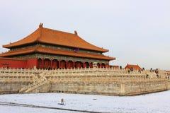 Peking Forbidden City Fotografering för Bildbyråer