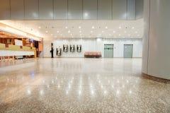 Peking-Hauptflughafen-Münztelefonecke Stockfotografie