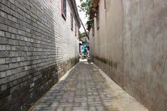 Peking hutung stock afbeelding