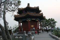 Peking Jinshan parkerar serie av aromatisk pacilion royaltyfri bild