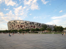 PEKING - 14. JUNI: Das Peking-Nationalstadion Lizenzfreie Stockfotografie