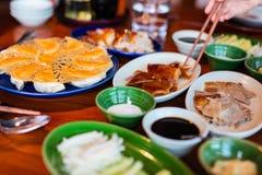 Peking kaczka fotografia stock