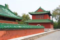 PEKING KINA - Oktober 18 2015: Tempel av jord (Ditan) ett berömt Arkivbilder
