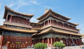 Peking lamatempel Arkivfoton