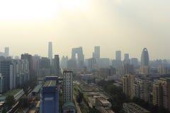 Peking-Luftverschmutzung Lizenzfreie Stockfotografie
