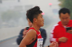 Peking-Marathon 2014 Lizenzfreies Stockfoto