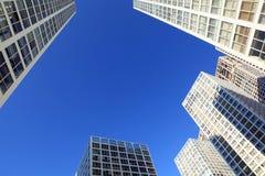 Peking-moderne Architektur Stockfotos