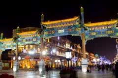 Peking-Nacht Stockfoto